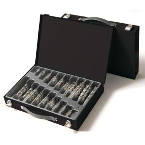 Metaalboren set, metaal boren set, metaalboren koffer, metaal boren koffer, meytaalboren, metaal boren, boren koffer