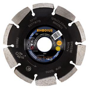 Rhodius LD402 diamantsluivenzaag 125mm 303671