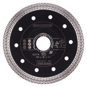Rhodius diamantschijf DG15 125mm 303870