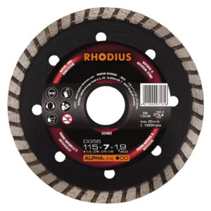 Rhodius DG55 diamantschijf 115mm 303402