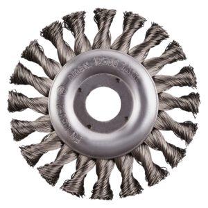 Rhodius radiale RVS borstel 125mm 353006