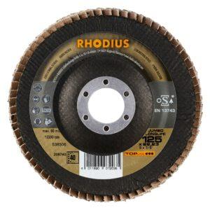 Rhodius Jumbo longlife keramische lamellenschijf 125mm