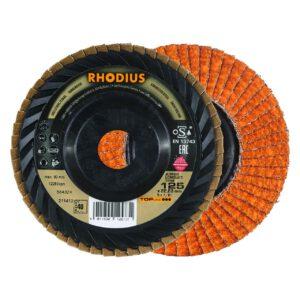 Rhodius Longlife Lamellenschijf Trimbaar 125mm K40