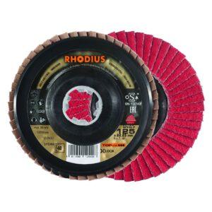 Rhodius Keramische Lamellenschijf Jumbo Speed 125mm K40