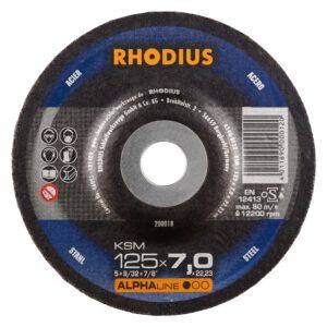 Rhodius KSM Afbraamschijf 125mm 200018
