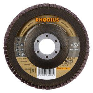 Rhodius LGZ F2 Alpha lamellenschijf vlak 125mm K40 209494