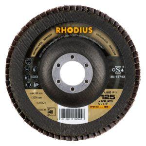 Rhodius LSZ F1 lamellenschijf Pro 125mm K40 202735