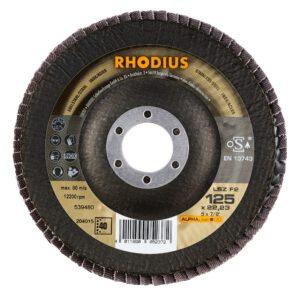 Rhodius LSZ F2 Alpha lamellenschijf 125mm K40 204015