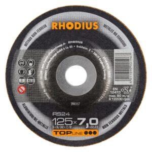 Rhodius RS24 Afbraamschijf aluminium 125mm 200357