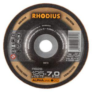 Rhodius RS28 Alpha Afbraamschijf 125mm 208733