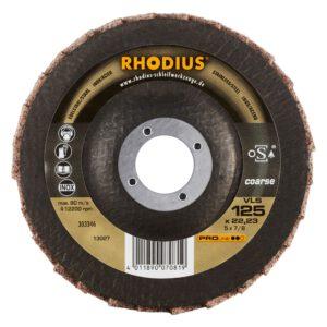 Rhodius VLS Vlies Lamellenslijpschijf 125mm 303346